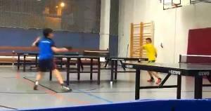 Finalspiel von Rekson in der 3. Klasse der A-Schüler in der ersten Runde des OBV