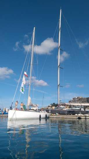 W4 im Hafen