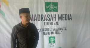 Demi aktif dakwah di sosial media, Ketua LDNU Bali Menjadi Peserta Madrasah Media
