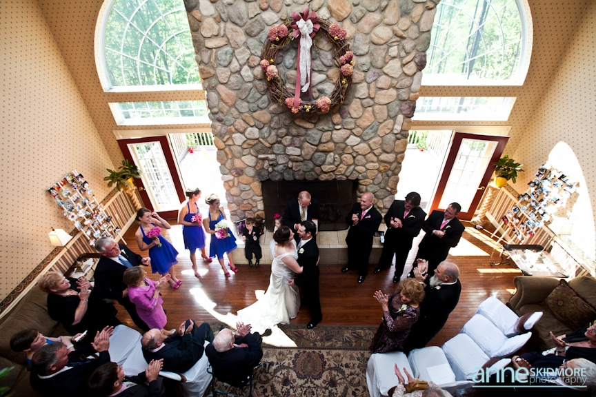 ceremony reception location christmas farm inn jackson new hampshire