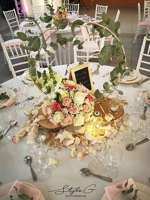 Décor table mariage