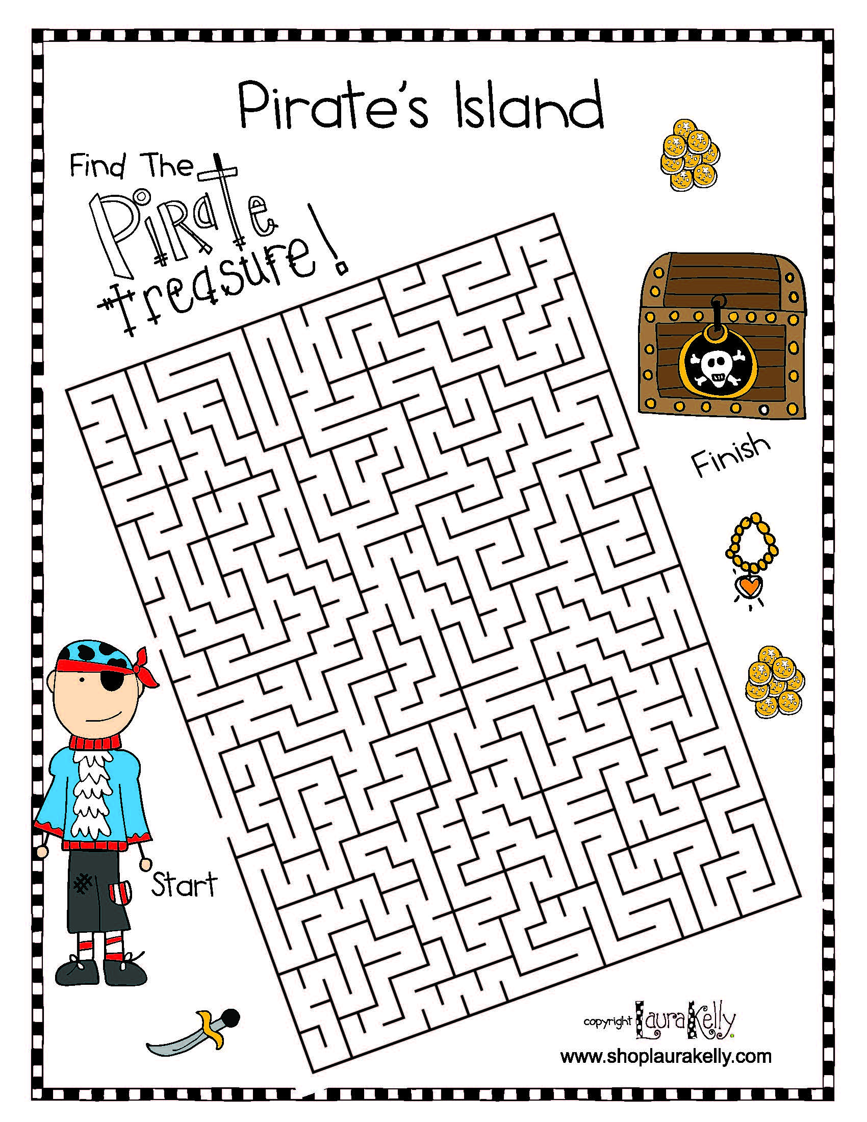 Pirate Fun Featuring Laura Kelly S Pirate Island