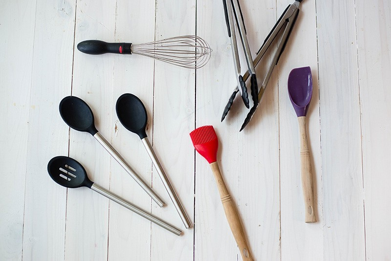 Plastic And Hard Rubber Kitchen Utensils
