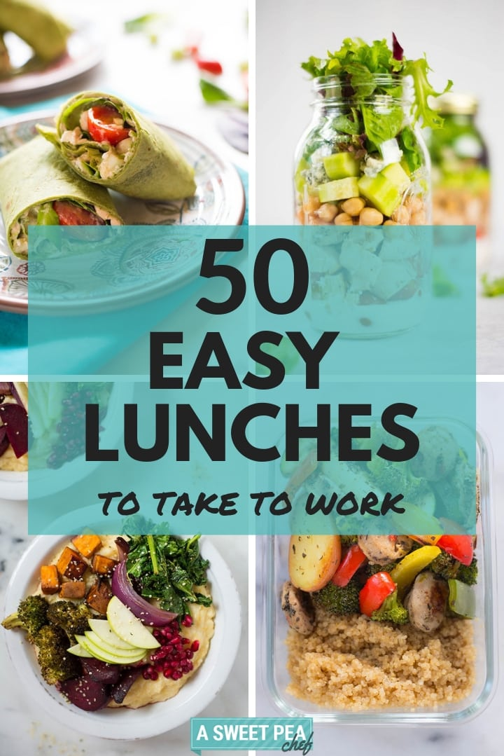 50 easy lunches to
