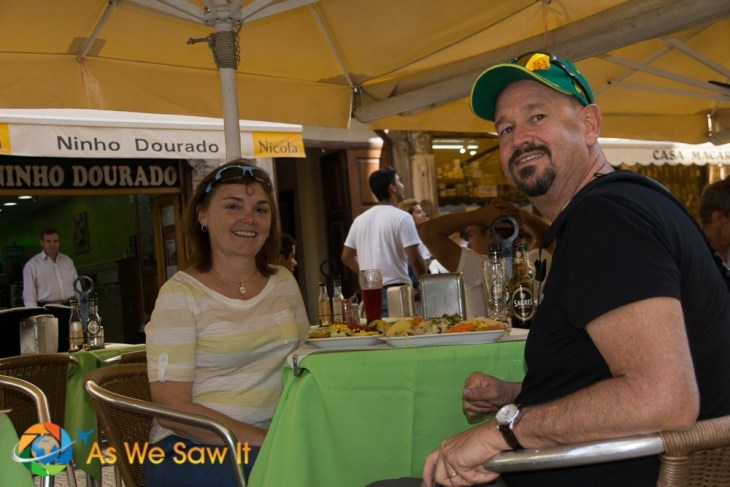 Dan & Linda in Lisbon - image for contact us page