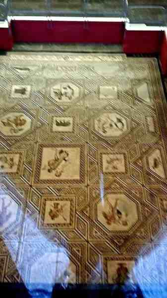 Floor of Roman Museum in Cologne 2