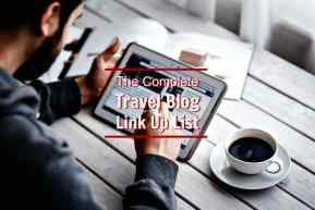 List of travel blogs that offer link ups, link parties, linkys, blog hops.