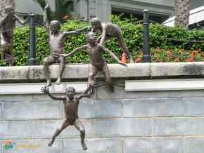 The First Generation sculpture by Chong Fah Cheong