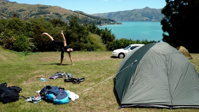 C&ing In New Zealand & How We Survived Camping In a Broken Tent For 3 Months In New Zealand