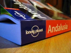 The Bible and Lonely Planet guide book