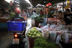 Bangkok local food Markets