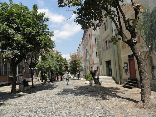 Bohemian quarter Skadarlija Belgrade