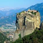 Value Travel Destinations Monastery Agia Triada Meteora Greece