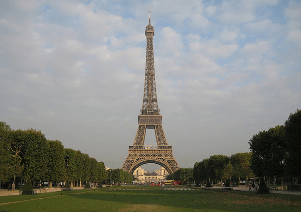 Visiting The Eiffel Tower In Paris