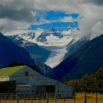 Glaciers And The Southern Alps