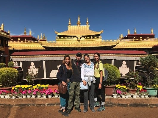 Lhasa Buddhist Temples Jokhang Temple
