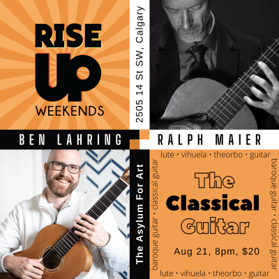 RISE UP Presents: Ben Lahring and Ralph Maier