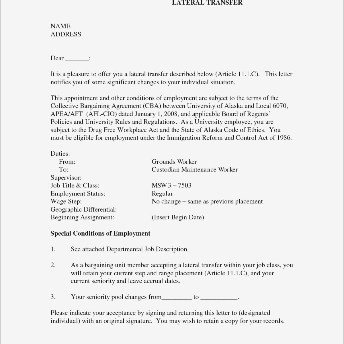 Desired Job Title Resume Examples