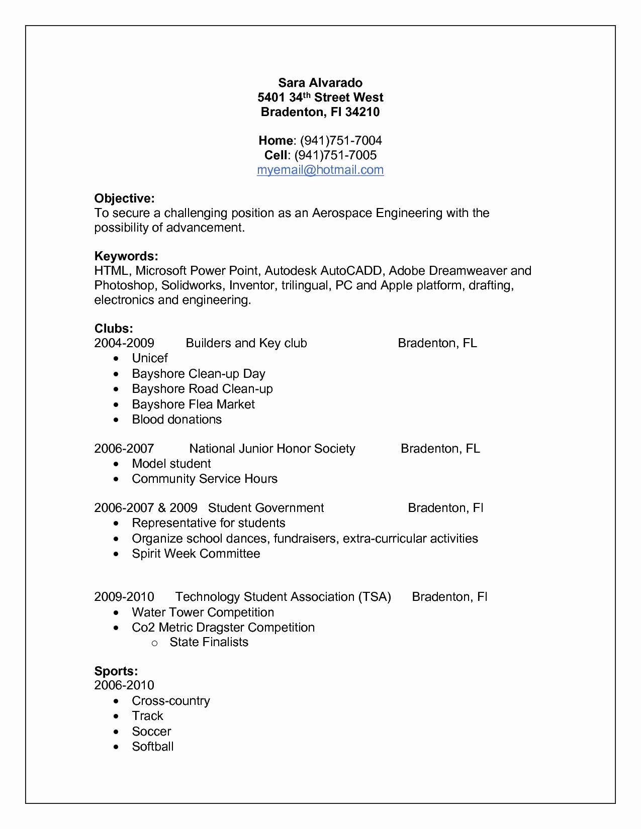 9 Resume Education Format Samples Resume Database Template