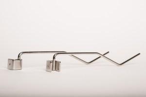 Pièce métal pliage du fil