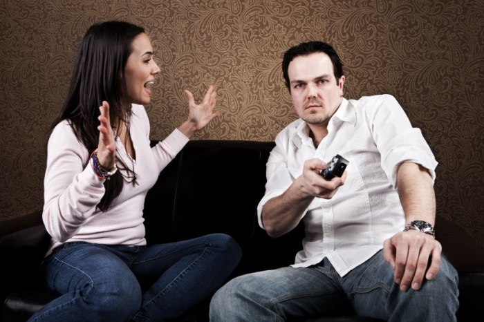nagging can cause the discruption in relation