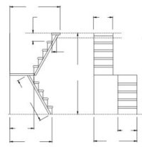 Ariella Dollhouse Plan. Modern style dollhouse structure ...