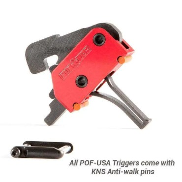 POF Single Stage Drop-In Trigger - Straight - 3.5 Lb Pull Weight