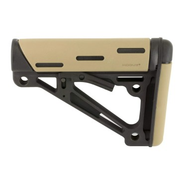 Hogue AR-15/M-16 OverMolded Collapsible Buttstock (Mil-spec)