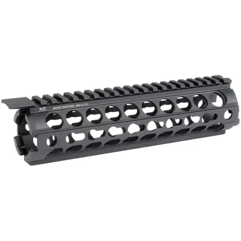 "MI 9"" AR-15 K-Series KeyMod Two Piece Drop-In Handguard - Mid-Length"