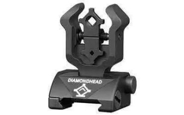 Diamondhead Rear Sight Gen2 - Folding - AR15/M4/M16 - 1101