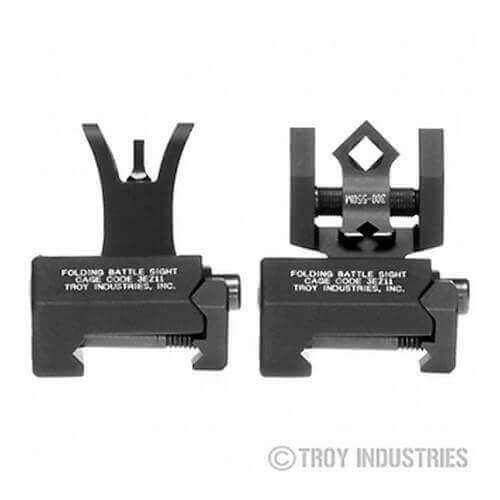 Troy Micro Sight Set - M4 Style - Folding