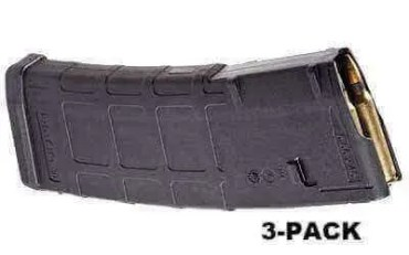 3-Pack - Magpul PMAG 30-Round M2 MOE Mag - .223 / 5.56 NATO