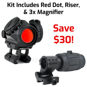 RD-50 Pro Red Dot Sight with RRDM 3x Magnfier Combo