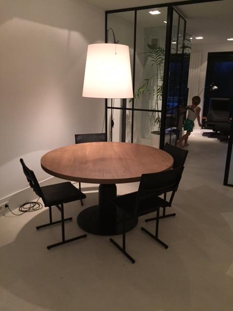 Zwarte Ronde Tafel Ikea Ronde Eiken Tafel Sojoez A Table