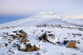 Rare sight: Paranal Observatory in the Atacama desert covered in snow