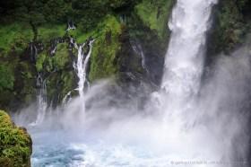 Huilo Huilo waterfall, Chile