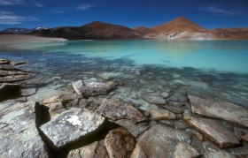 Laguna Brava, a remote lagoon in the Altiplano of Chile