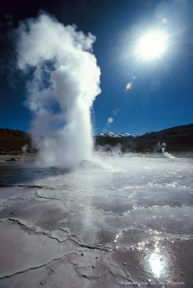 Geysers del Tatio, a major tourist attraction in Chile