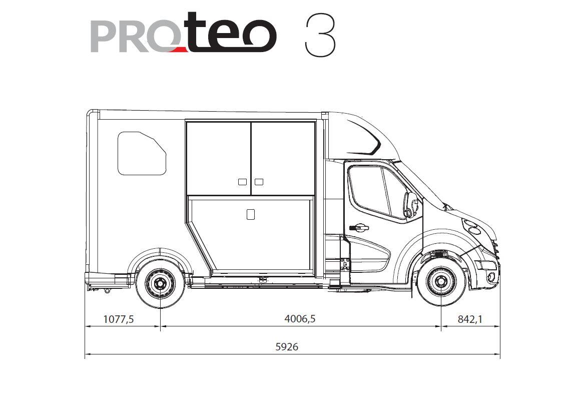 New 3 5 Tonne Theault Proteo 3 Horsebox Xl Tack Room A New