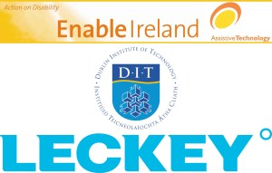 3 logos: Leckey, D.I.T. and Enable Ireland