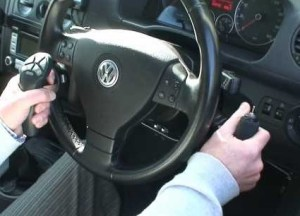 car adaptation with hand controls