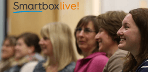 A Smartbox Live event showing the audience