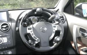 Steering balls which facilitate steering wheel grip