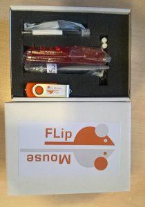 FlipMouse construction kit in box
