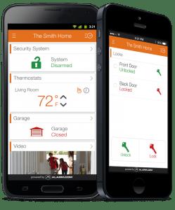 Action24 intruder alarm app
