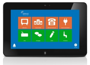 Servus tablet environmentatl control