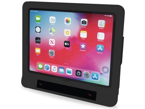 "iPad Pro 12"" in black case with Skyle eye tracker"