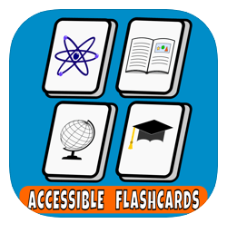 Accessible flash cards to assist learning