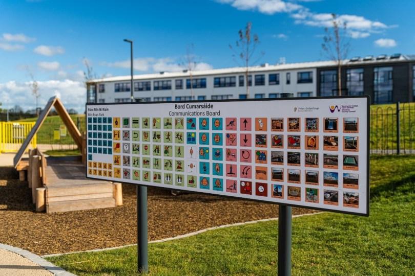 Communication Board in Min Ryan Public Park