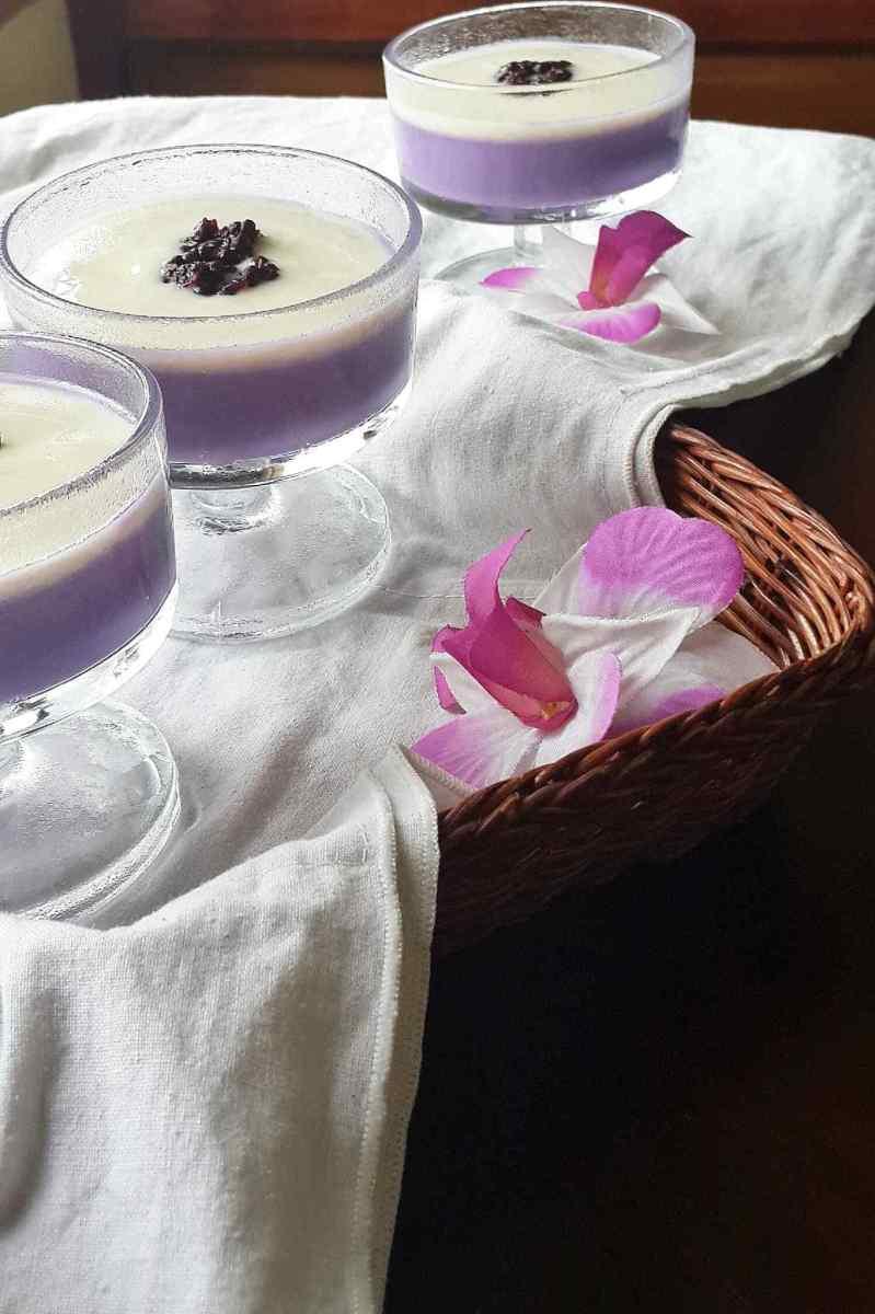 Taro Silky Pudding